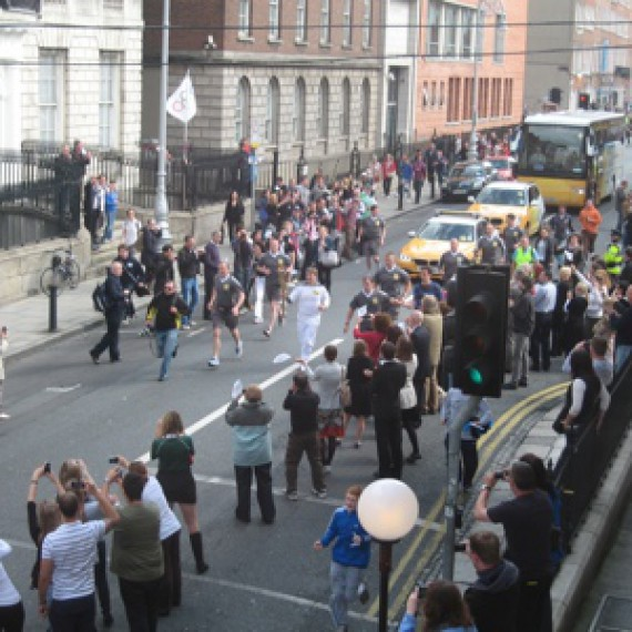 Dublin Olympic Torch Relay