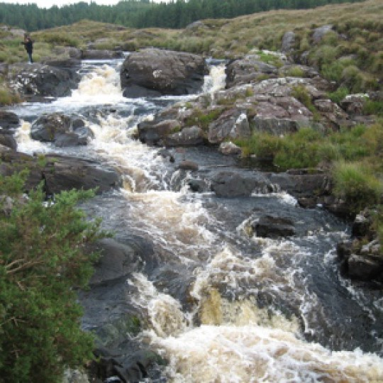 Connemara Waterfall