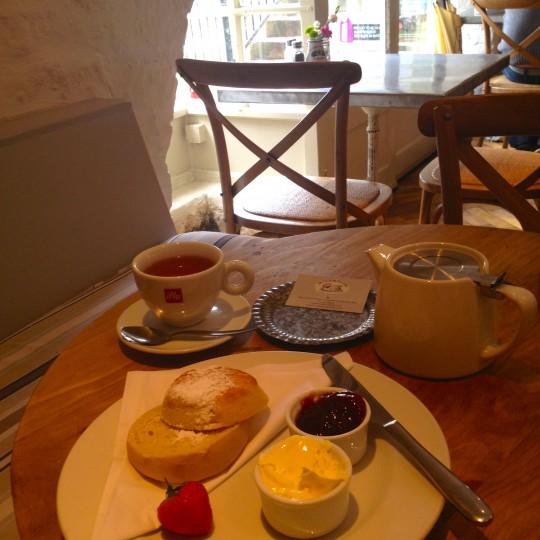 Cream Tea – Riverside Cafe, Bath