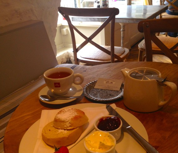 Cream Tea – Riverside Cafe, Bath