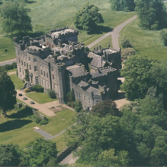 Markree Castle Ariel Shot