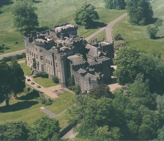 Markree Castle Ariel Shot