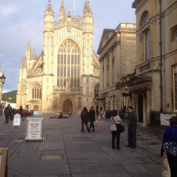 Bath Abbey churchyard