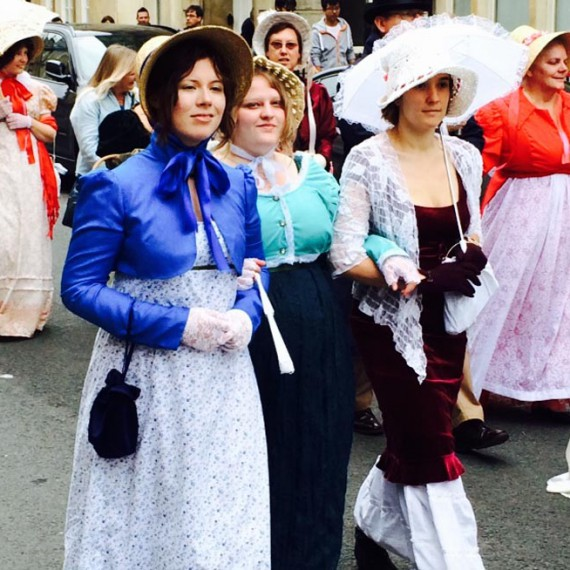 Bath Jane Austen parade