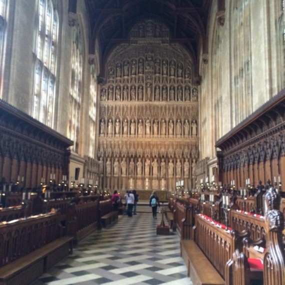 Oxford New College chapel