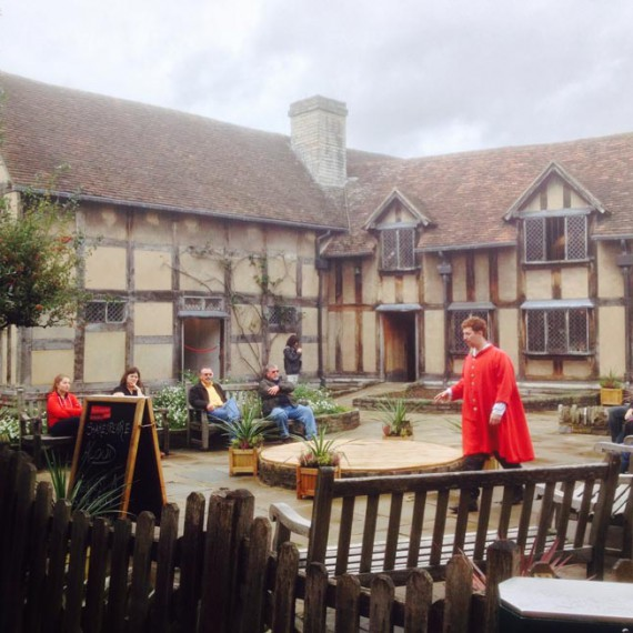 Stratford Shakespeares birthplace